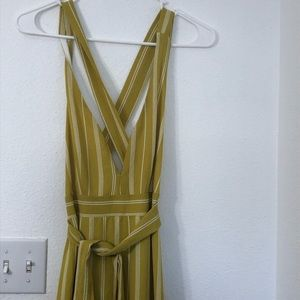 Forever 21 tank top wrap around maxi dress size L